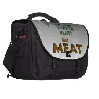 Eat Meat Bags For Laptop