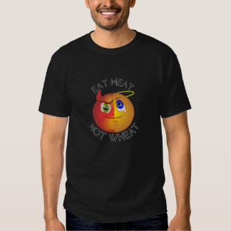 Eat Meat Not Wheat Devil/Angel Smiley, keto lovers Tee Shirt