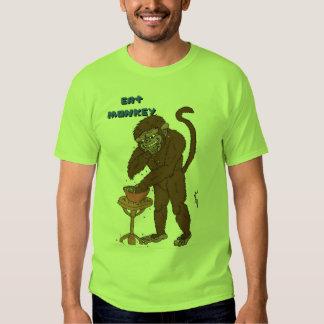 Eat Monkey Tee Shirt