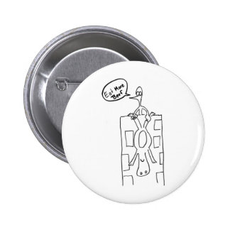 Eat More Beef Building Drop 2 Inch Round Button