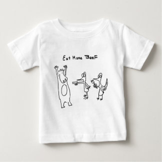 Eat More Beef Hold Up Baby T-Shirt