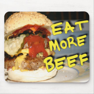Eat More Beef Mouse Pad