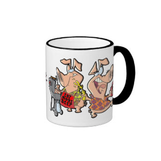 Eat More Beef Ringer Mug
