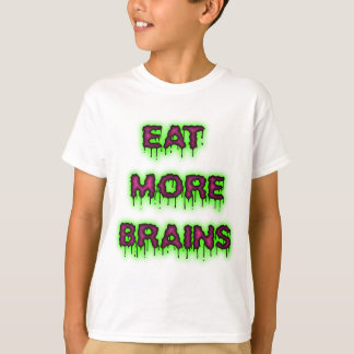 Eat More Brains youth shirt