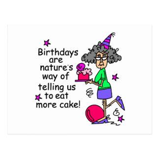 Birthday Cake Joke Image : Funny Old People Birthday Cards Zazzle