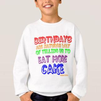 Eat More Cake! Sweatshirt