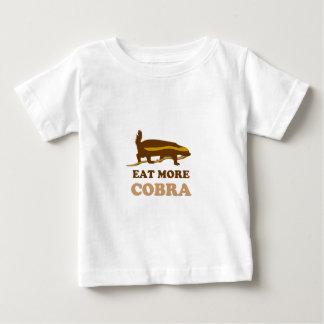 Eat more cobra - Honey Badger Baby T-Shirt