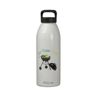 Eat More Corn Water Bottle