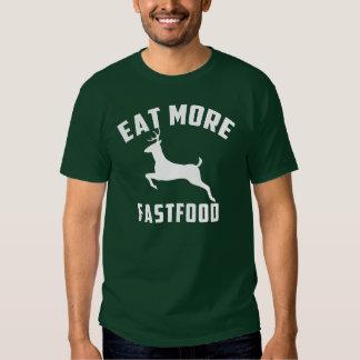eat more fast food tshirt