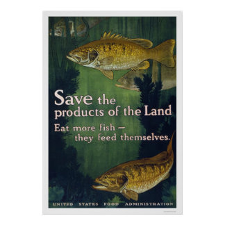 Eat More Fish Poster 1917