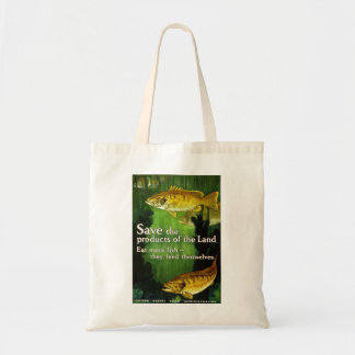 Eat More Fish, Tote Bag
