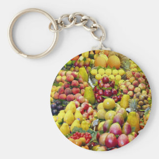 Eat more fruit key chains