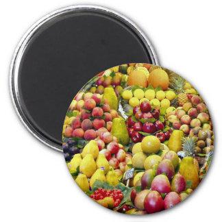 Eat more fruit refrigerator magnets