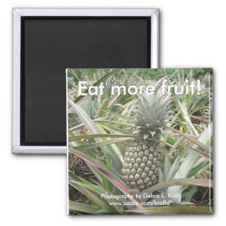 Eat More Fruit! Pineapple Magnet
