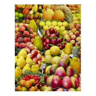 Eat more fruit post card