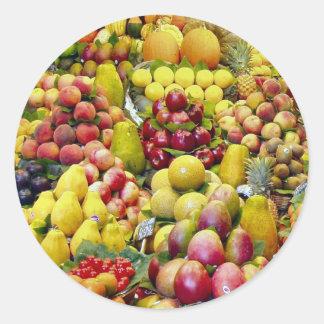 Eat more fruit sticker