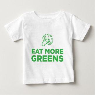 Eat More Greens Baby T-Shirt