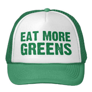 Eat More Greens Hat