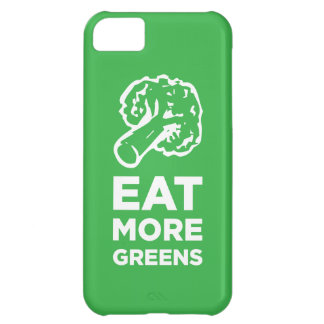 Eat More Greens iPhone 5C Cover