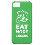 Eat More Greens iPhone 5C Covers