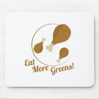 Eat More Greens! Mouse Pads