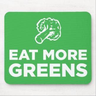 Eat More Greens Mousepad