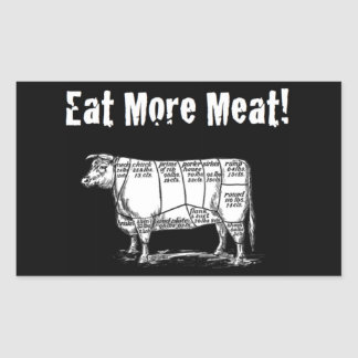 Eat More Meat Sticker