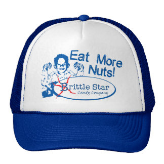 Eat More Nuts - Brittle Star Trucker Hat