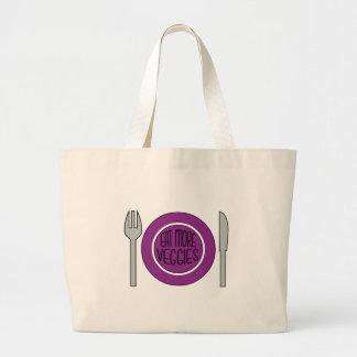 Eat More Veggies Canvas Bag