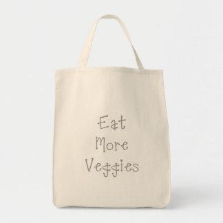 Eat More Veggies Shopping Bag