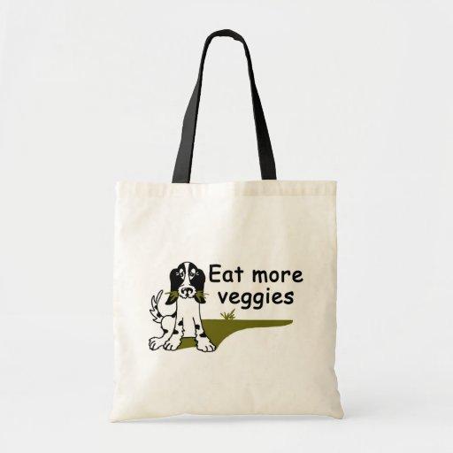 Eat More Veggies Tote Budget Tote Bag