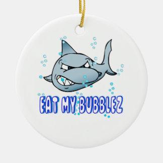 Eat My Bubbles Ceramic Ornament