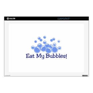 Eat My Bubbles Laptop Skin