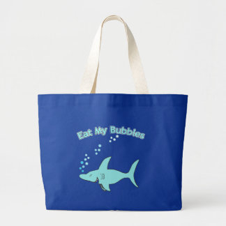 Eat My Bubbles Large Tote Bag