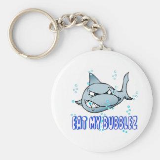 Eat My Bubblez Basic Round Button Keychain