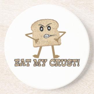 Eat My Crust Coaster
