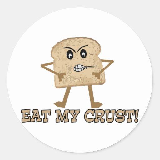 Eat My Crust Stickers