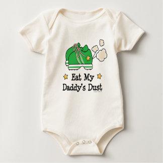 Eat My Daddy's Dust Runner Baby Bodysuit