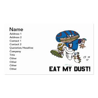 Eat My Dust Business Card