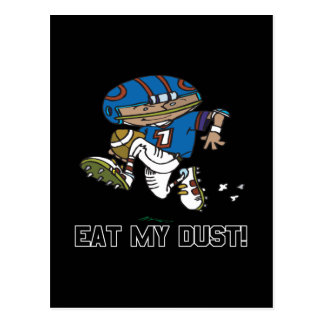 Eat My Dust Postcard