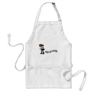 Eat My Dust Rollerderby Adult Apron