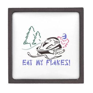 Eat My Flakes Jewelry Box