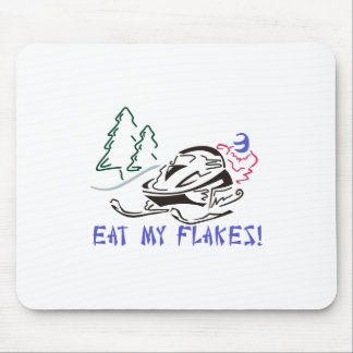 Eat My Flakes Mouse Pad