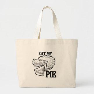 EAT MY PIE TOTE BAGS