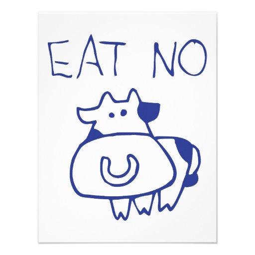 Eat no cow - blueb announcements