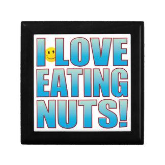 Eat Nuts Life B Jewelry Box