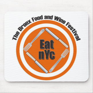 Eat nYc Apparel Mouse Pad