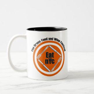 Eat nYc Apparel Two-Tone Coffee Mug