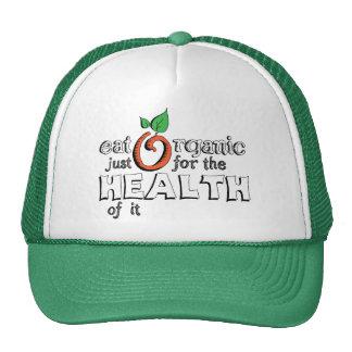 Eat Organic Mesh Hat
