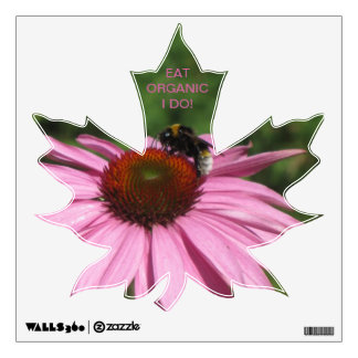 Eat Organic Wall Sticker